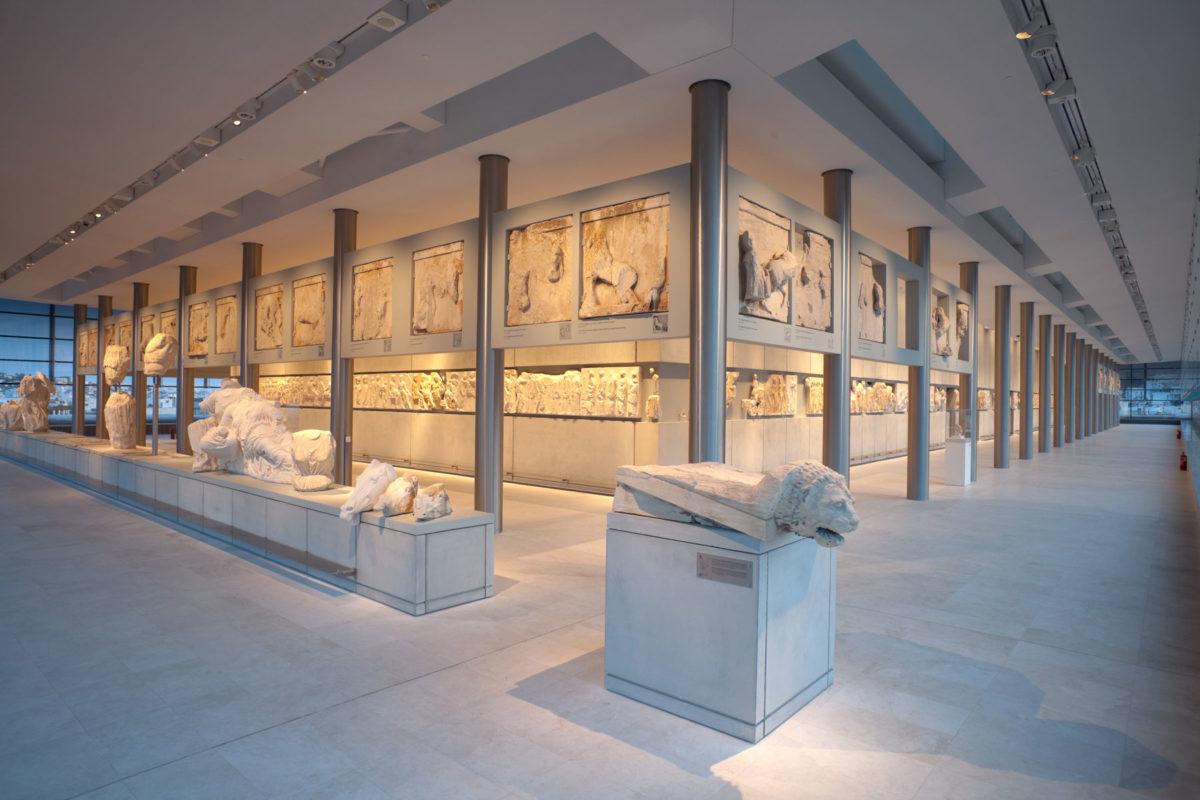 Η Αίθουσα του Παρθενώνα. © Μουσείο Ακρόπολης. Φωτ.: Νίκος Δανιηλίδης.