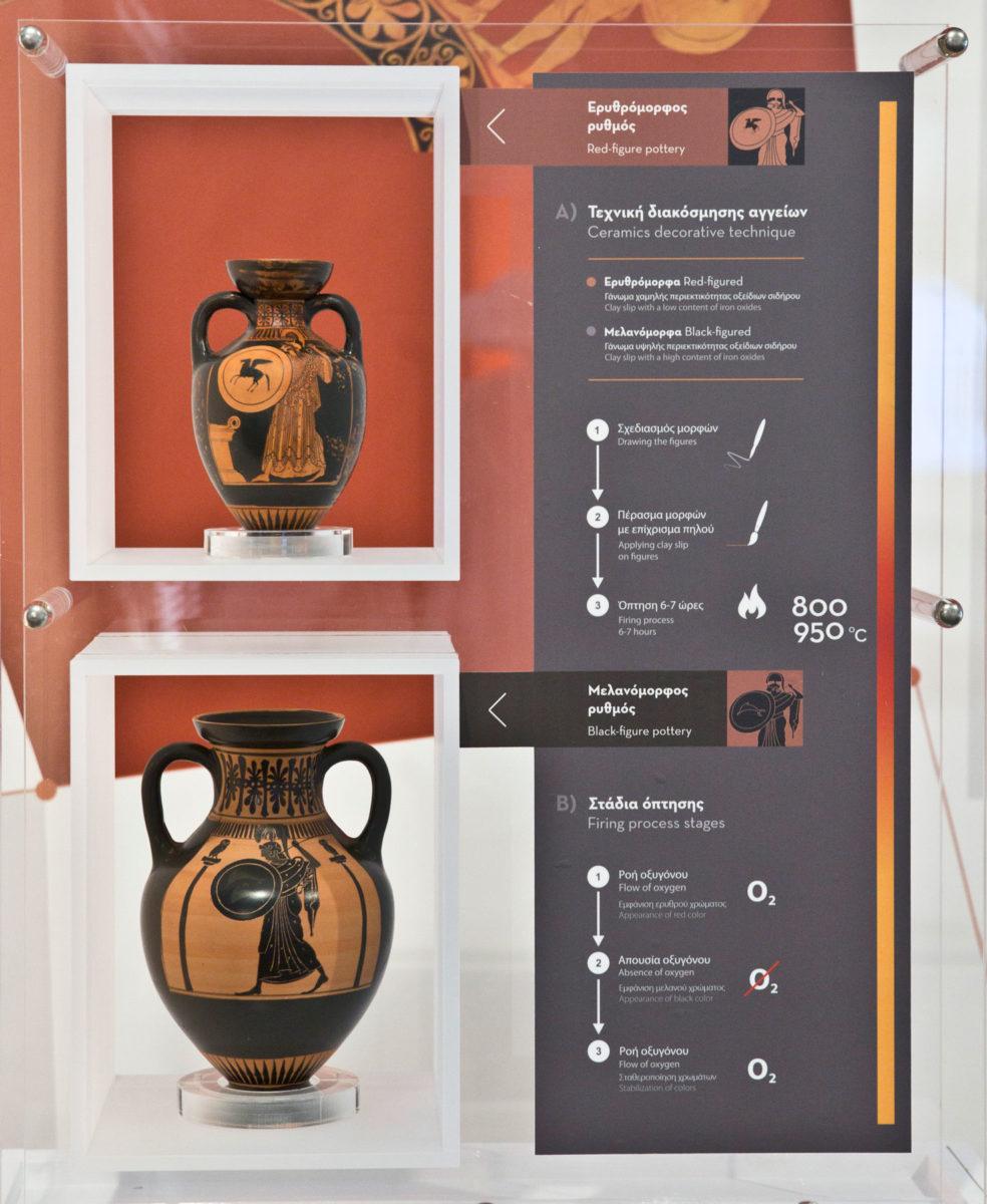 Άποψη της έκθεσης «ΙΔΕΑ – Αρχαία ελληνική επιστήμη και τεχνολογία», που παρουσιάζεται στον «Ελληνικό Κόσμο».