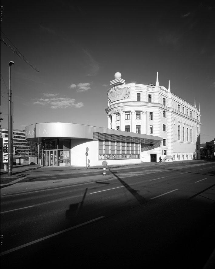 Αποκατάσταση και επέκταση του Πολιτιστικού κέντρου Wiener Urania, 1999-2003.