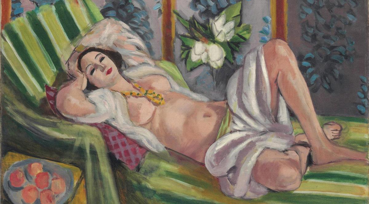 «Odalisque couchée aux magnolias», έργο του Ανρί Ματίς (1923). Φωτ.: Christie's.