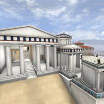 Διαδραστική περιήγηση στην Ακρόπολη της εποχής τουΠερικλή