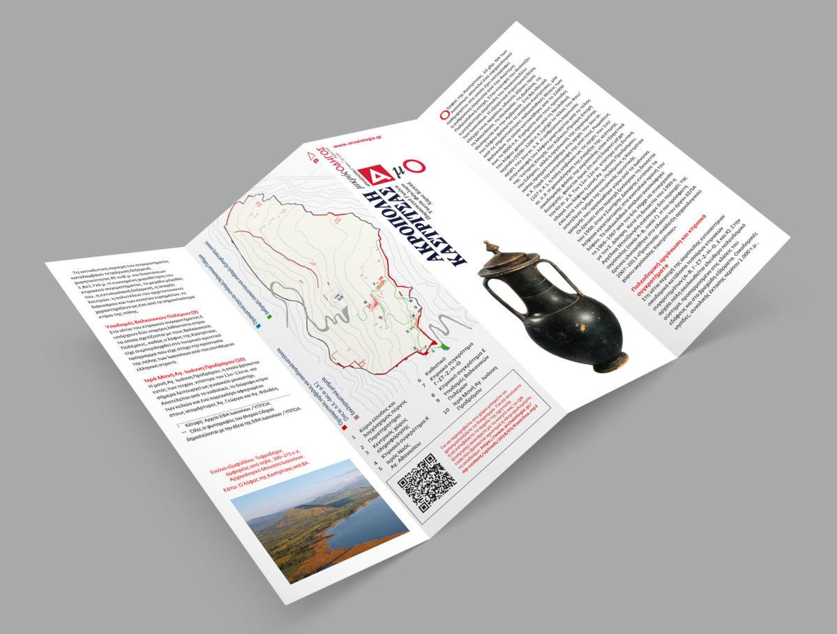 Το τεύχος 126 περιλαμβάνει αποσπώμενο Μικρό Οδηγό για την Ακρόπολη Καστρίτσας.