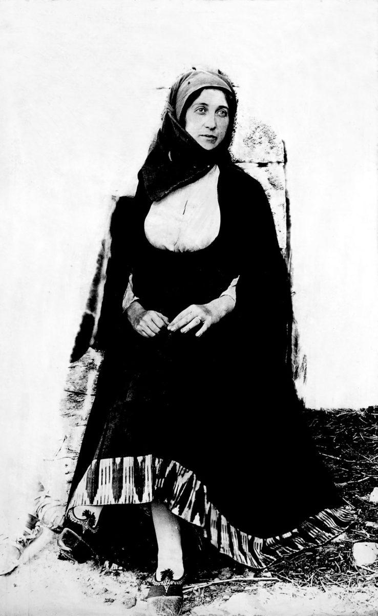 Η λαογράφος και συγγραφέας Αγγελική Χατζημιχάλη.