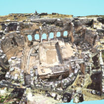 Tρισδιάστατη ψηφιακή απεικόνιση της Αρχαίας Κορίνθου και άλλων μνημείων