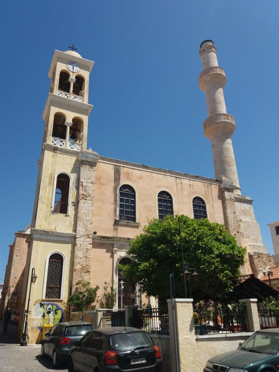 O ναός του Αγίου Νικολάου βρίσκεται στην ιστορική συνοικία της Σπλάντζιας, στα Χανιά (φωτ.: ΑΠΕ-ΜΠΕ).