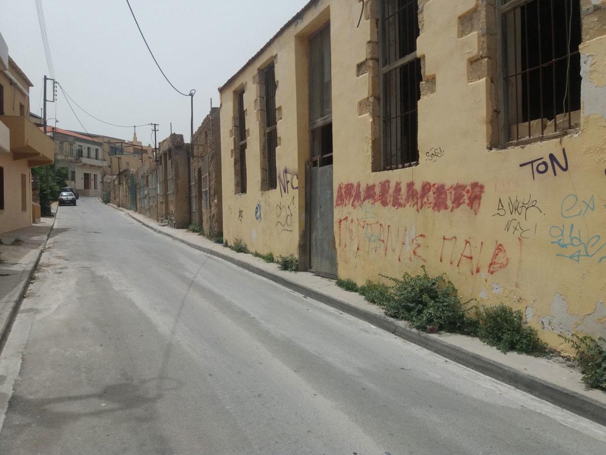 Τα Ταμπακαριά καλύπτουν μια έκταση που βρίσκεται «αγκαλιά» με τη θάλασσα στην ιστορική συνοικία της Χαλέπας, από την Αγία Κυριακή μέχρι και την οδό Βιβιλάκη (φωτ.: ΑΠΕ-ΜΠΕ).