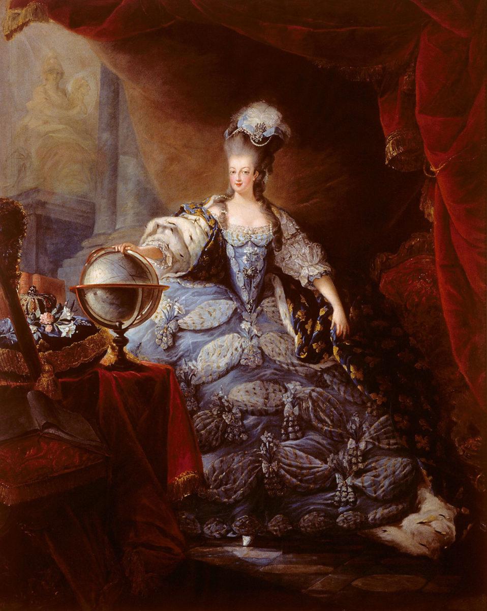 «Η Μαρία Αντουανέτα», έργο του Jean-Baptiste Gautier Dagoty, 1775 (φωτ.: Wikipedia).