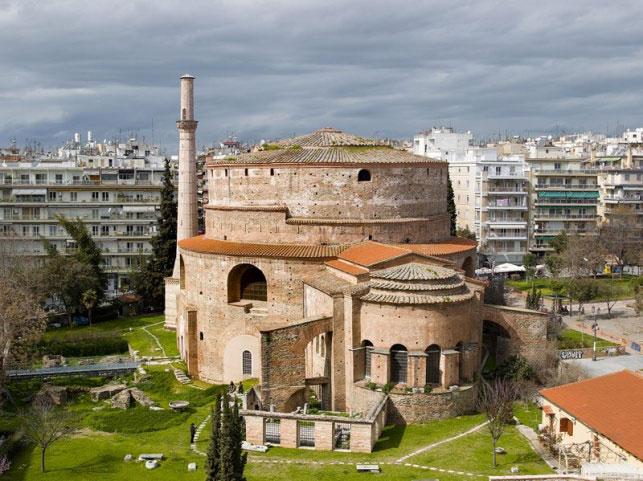 Η Ροτόντα. Φωτ.: Εφορεία Αρχαιοτήτων Πόλης Θεσσαλονίκης.