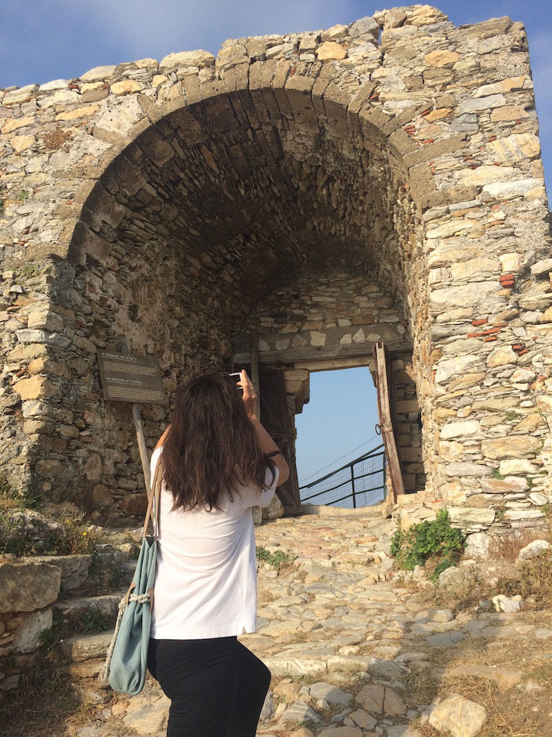 Αυτοψία στο Κάστρο της Σκιάθου.