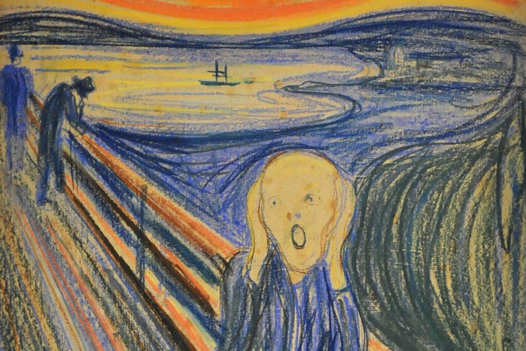 Η έκθεση περιλαμβάνει περίπου 7.500 έργα με σκίτσα από την παιδική του ηλικία, αλλά και τις νερομπογιές του Νορβηγού Συμβολιστή ζωγράφου με θέμα κτήρια της πόλης.