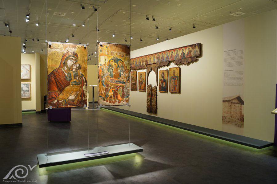 Εκθέματα της Βυζαντινής περιόδου στο Διαχρονικό Μουσείο Λάρισας (φωτ.: Διαχρονικό Μουσείο Λάρισας).