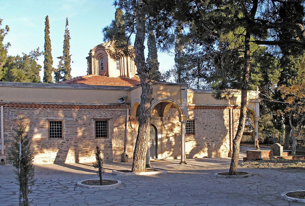 Άποψη της Μονής Βλατάδων (φωτ.: Βικιπαίδεια).