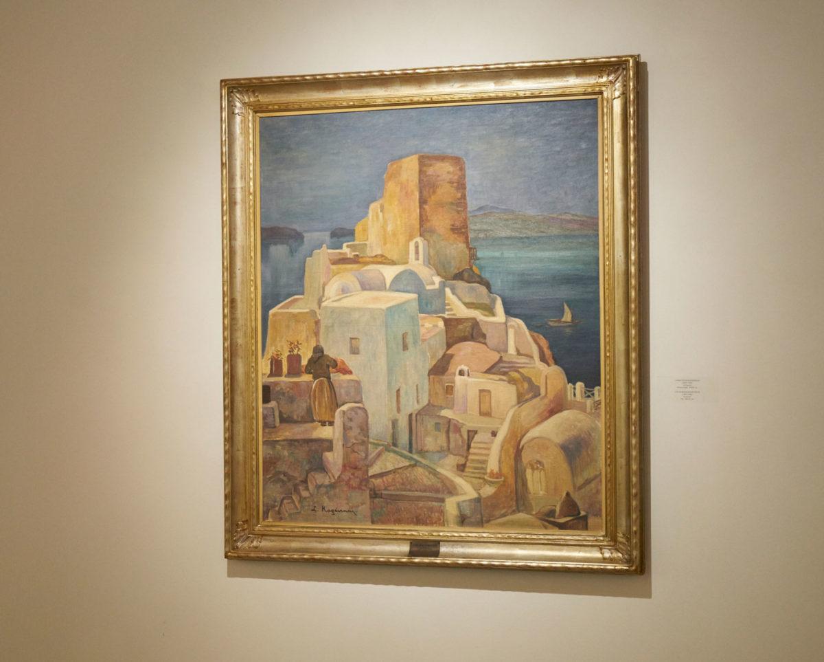 Από την έκθεση «Τέχνη και Εποχή. Η συλλογή της Πινακοθήκης δήμου Αθηναίων μέσα από τα μάτια του Σπύρου Παπαλουκά».