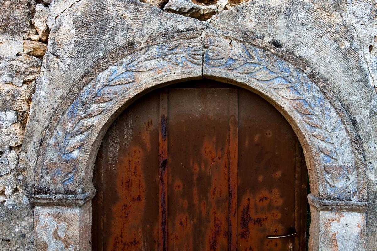 Εικ. 40. Ίχνη χρώματος στις εξωτερικές όψεις. © Παναγιώτης Ηλίας.