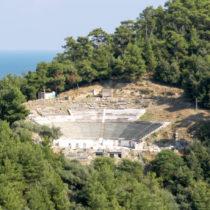 Θάσος: Το εντυπωσιακό αρχαίο θέατρο εισέρχεται σε νέα φάση αναστήλωσης