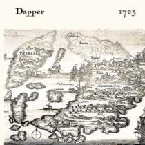 Ταξιδεύοντας με χάρτες στην ιστορία της Σαντορίνης