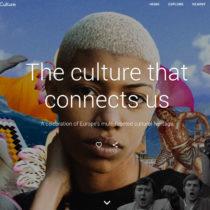 «Ο πολιτισμός που μας ενώνει»