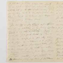 Στο σφυρί επιστολή του Μποντλέρ