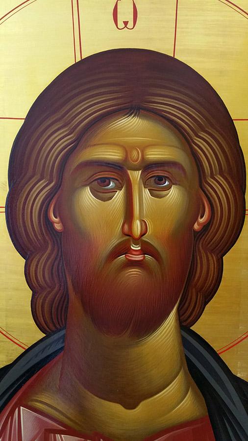 «Ιησούς Χριστός», έργο του Γρηγόρη Μπαλογιάννη.