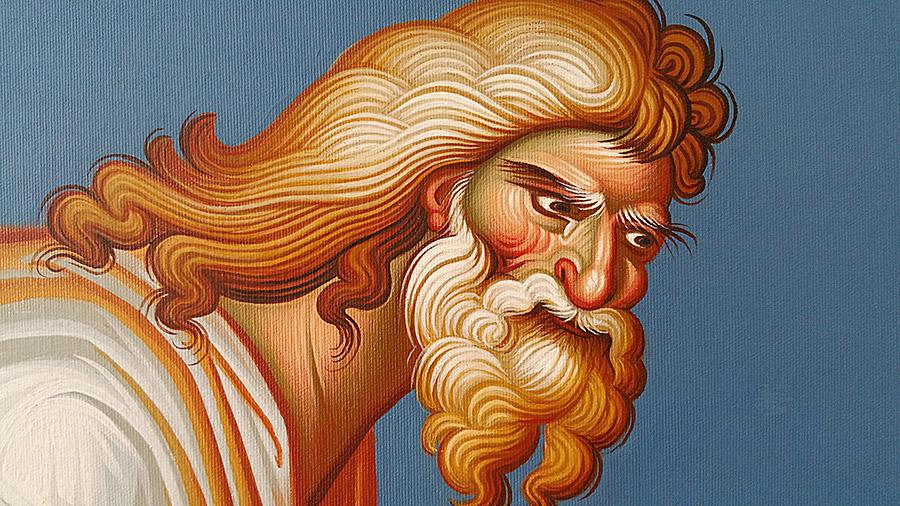 «Ο φιλόστοργος πατήρ», έργο του Γρηγόρη Μπαλογιάννη.