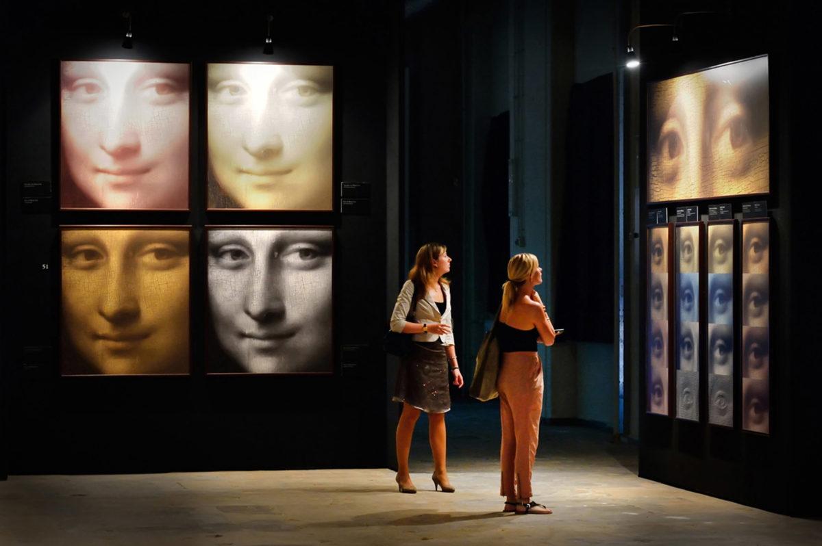 Φωτογραφία από την έκθεση «Λεονάρντο ντα Βίντσι: 500 χρόνια ιδιοφυΐας».