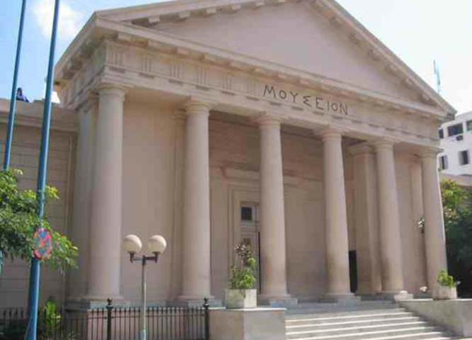 Το Ελληνορωμαϊκό Μουσείο της Αλεξάνδρειας.