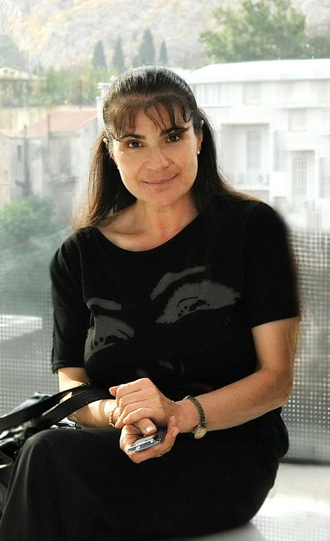 Η Μιράντα Μπαφάλη. Φωτ.: Κωνσταντίνα Λαμπροπούλου.