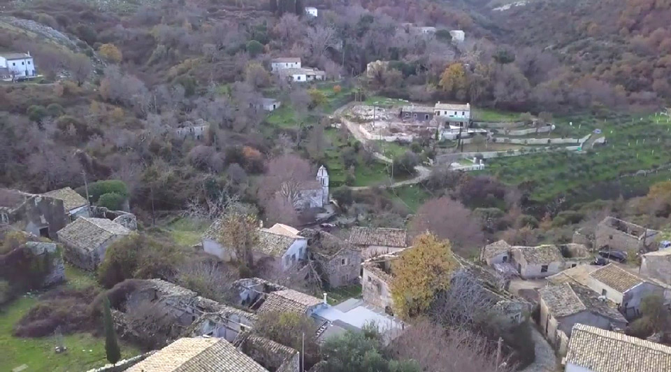 Η Παλιά Περίθεια είναι το αρχαιότερο χωριό της Κέρκυρας (φωτ.: ΑΠΕ-ΜΠΕ).
