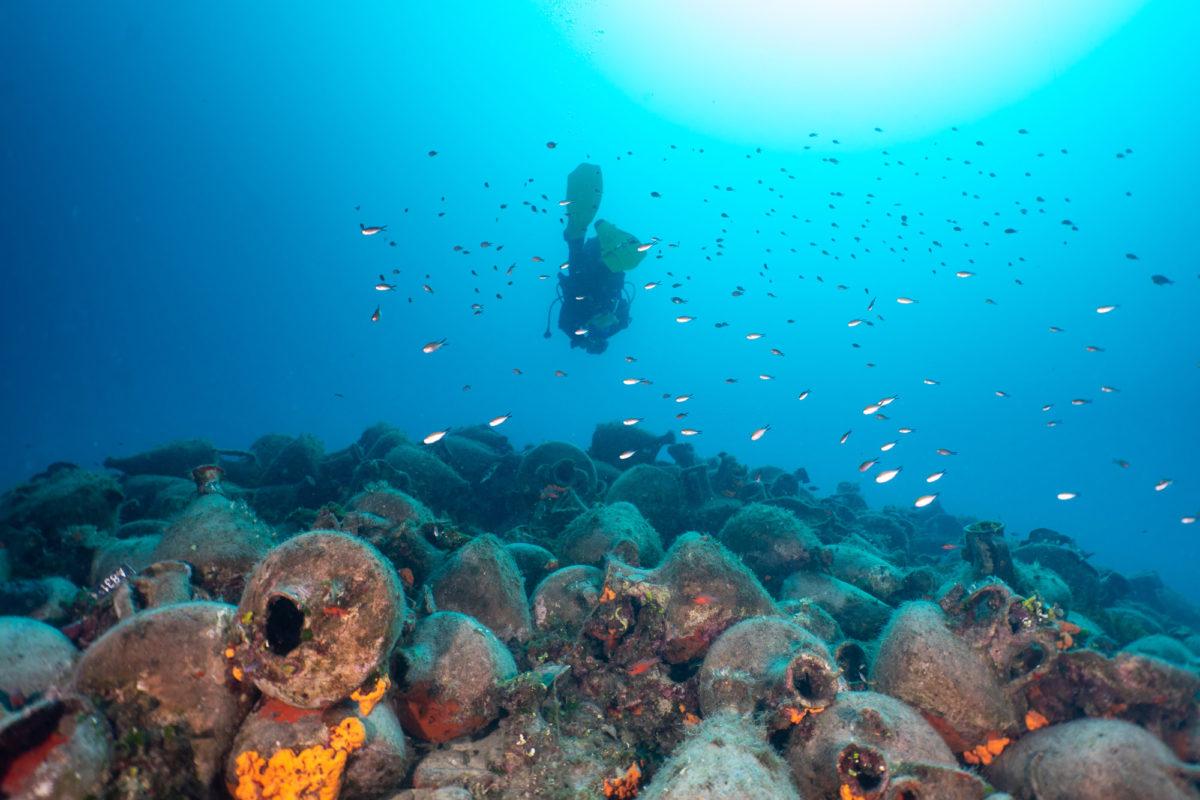 Πρώτο βραβείο για το υποθαλάσσιο μουσείο της Περιστέρας
