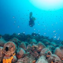Aνοίγει φέτος τις υδάτινες πύλες του το υποβρύχιο μουσείο στην Αλόννησο