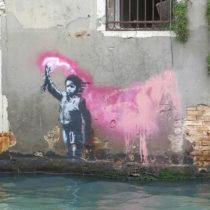 Νέο γκράφιτι του Μπάνκσι ενδέχεται να βρέθηκε στη Βενετία