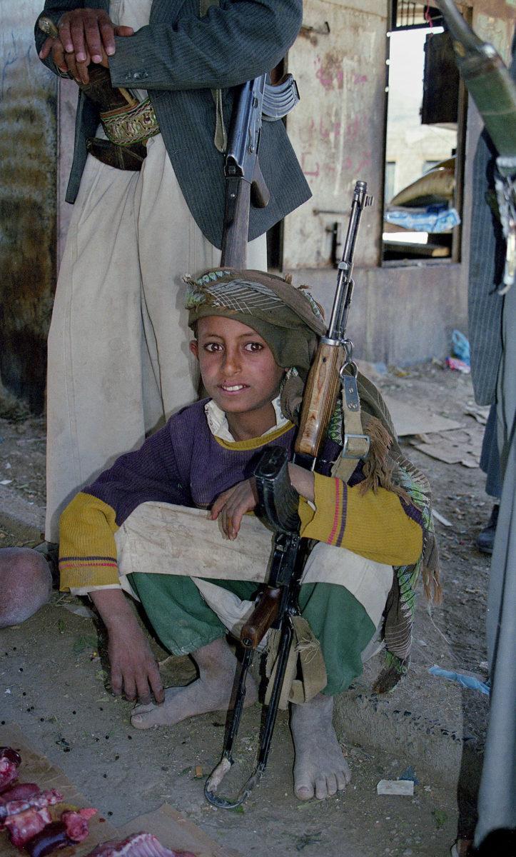 Φωτογραφία του εθνομουσικολόγου Λάμπρου Λιάβα από την Υεμένη.