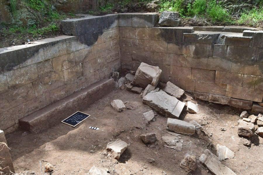 Άποψη της ανασκαφής (φωτ.: stonisi.gr).