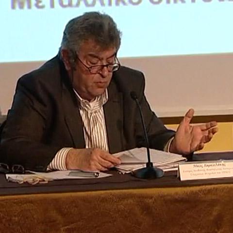 Ο Νίκος Χαρκιολάκης (φωτ.: blod.gr).