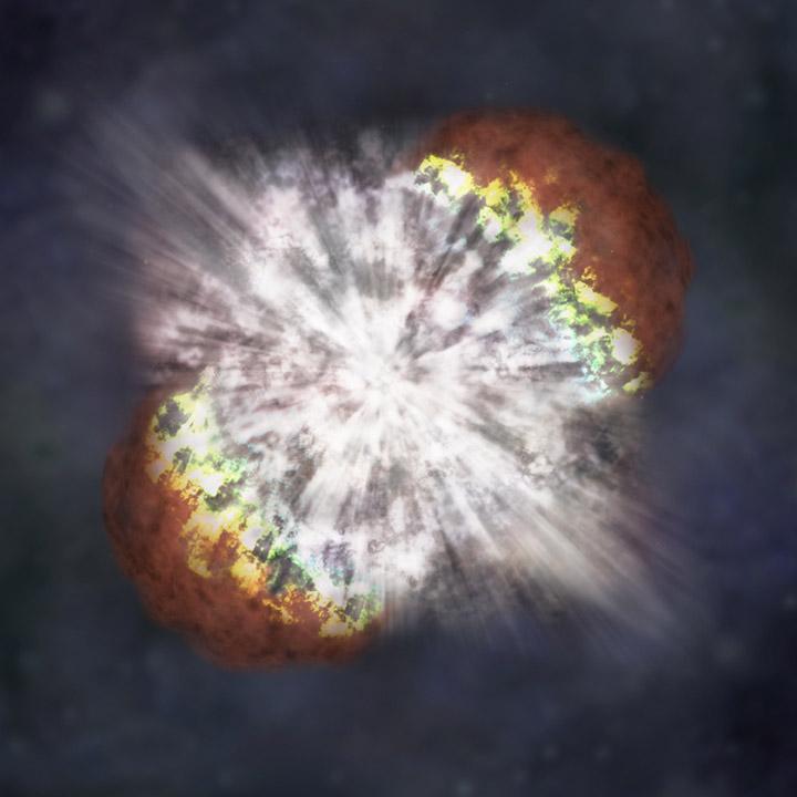 Οι ερευνητές βρήκαν βάσιμες ενδείξεις πως συνέβησαν εκρήξεις supernova στην κοσμική «γειτονιά» της Γης τη συγκεκριμένη περίοδο (φωτ.: NASA).