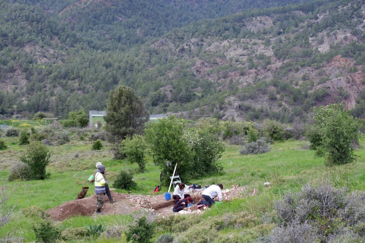 Άποψη του αρχαιολογικού χώρου (φωτ.: Τμήμα Αρχαιοτήτων Κύπρου).