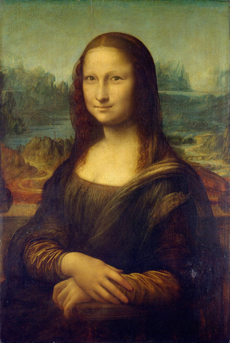 H Maggie Michella αλλάζει τα μάτια της Mona Lisa, θέλοντας να καταρρίψει το στερεότυπο ότι «όλοι οι Ασιάτες είναι ίδιοι» (φωτ.: Maggie Michella).