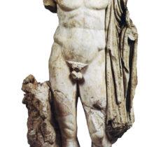 Το άγαλμα του κριοφόρου Ερμή από την Τροιζήνα, ρωμαϊκό αντίγραφο αγαλματικού τύπου του 4ου αι. π.Χ.
