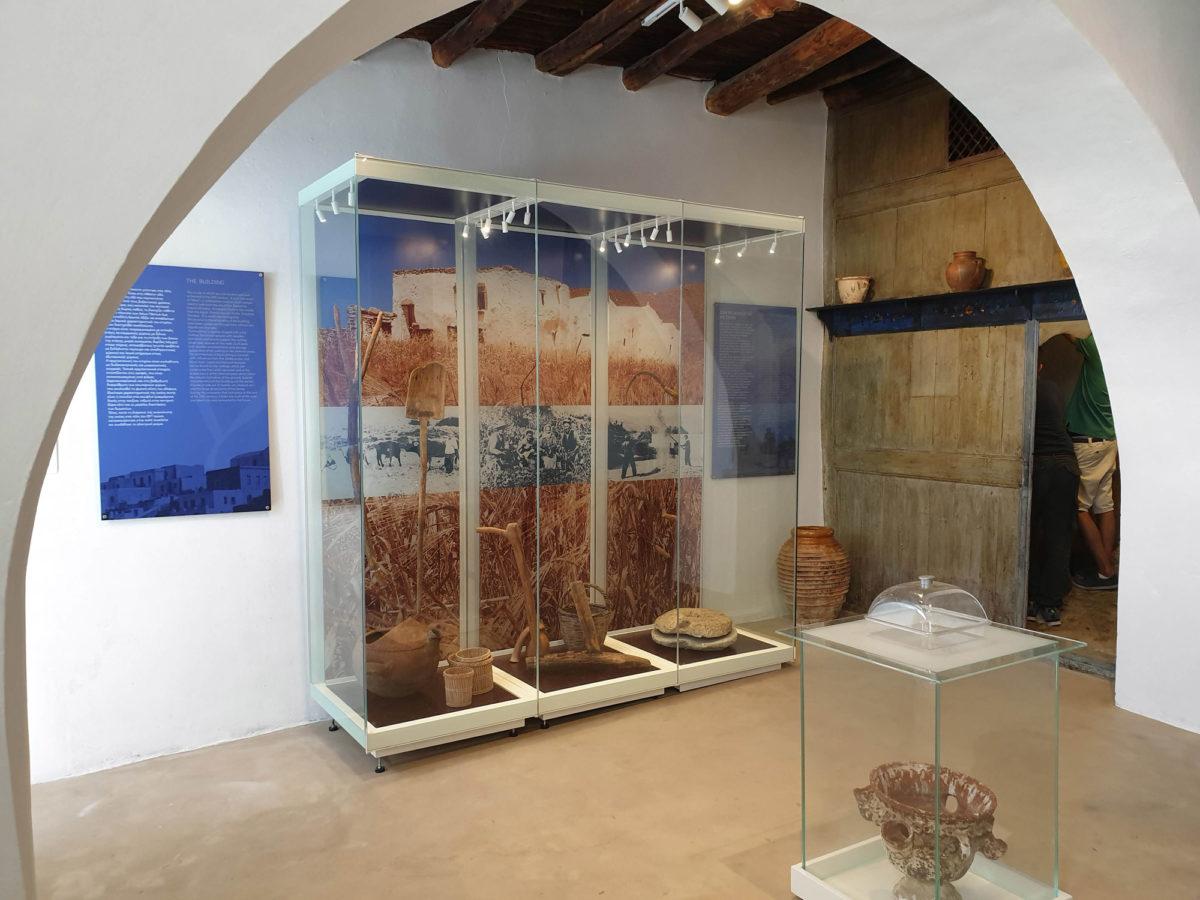 Στο Λαογραφικό Μουσείο Αμοργού.