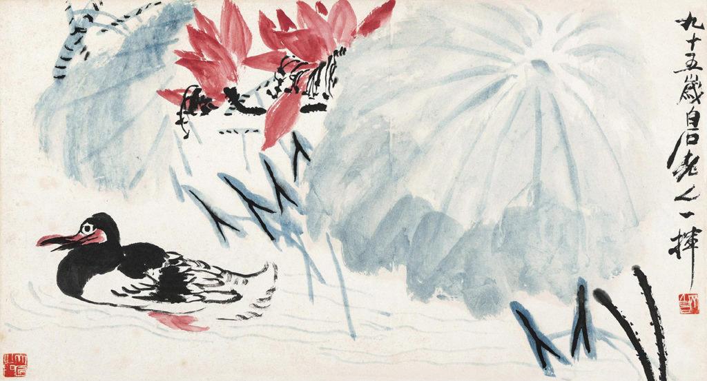 Έργο του Τσι Μπαϊσί (φωτ.: comuseum.com).