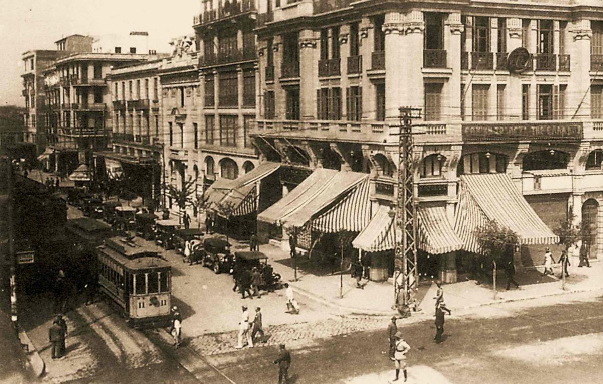 Η οδός Αγίου Μηνά στη Θεσσαλονίκη (φωτ.: ΜΙΕΤ).