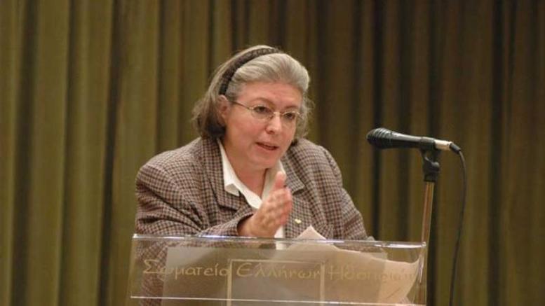 Η Υπουργός Πολιτισμού και Αθλητισμού Λίνα Μενδώνη.