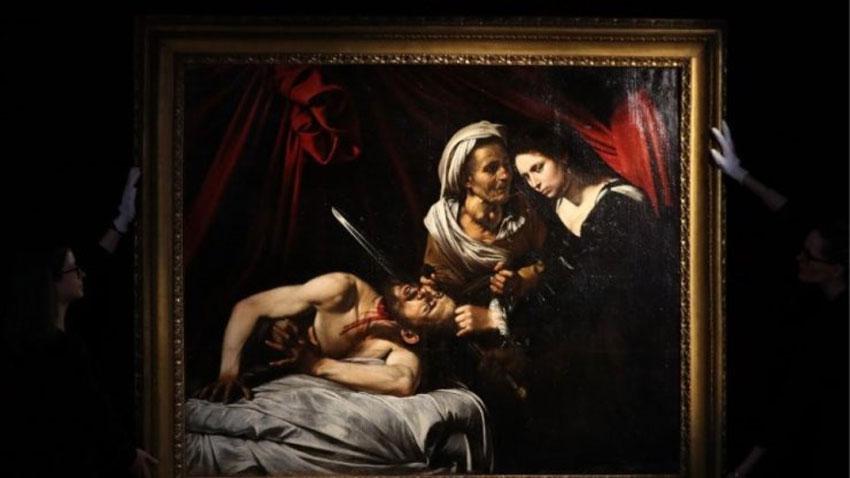 Ο πίνακας «Ιουδήθ και Ολοφέρνης», έργο του Καραβάτζο.