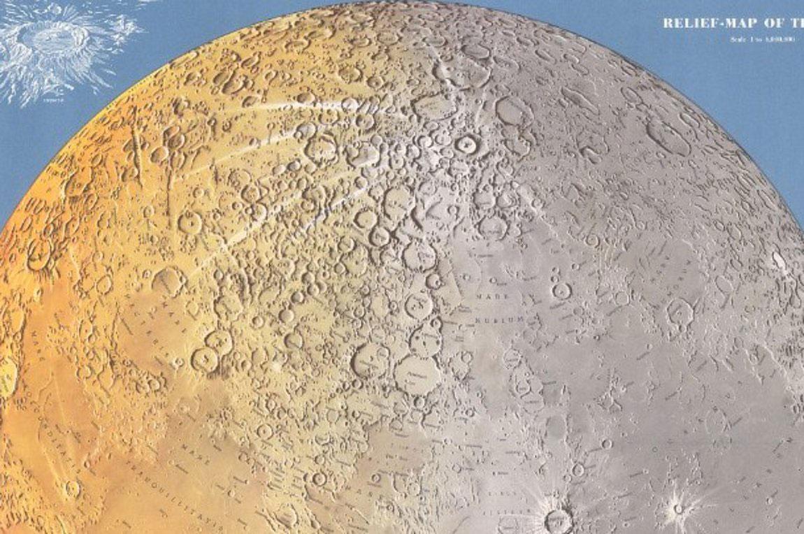 Η γκαλερί παλαιών χαρτών στο Λονδίνο, The Map House, εγκαινίασε έκθεση χαρτών της Σελήνης από τον 17ο αιώνα έως τον 20ό. Τριακόσια χρόνια επιστημονικής χαρτογράφησης, τα οποία οδήγησαν στην προσελήνωση της ακάτου Eagle από τον Apollo 11.