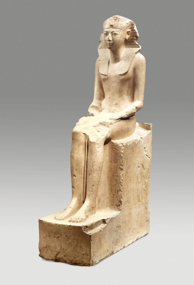 Άγαλμα της Χατσεψούτ στο Μητροπολιτικό Μουσείο Τέχνης της Νέας Υόρκης (φωτ.: The Met).