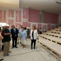 Λ. Μενδώνη και Γ. Πατούλης στο εργοτάξιο της Εθνικής Πινακοθήκης