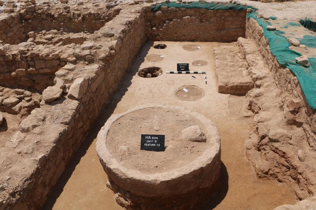 Άποψη της ανασκαφής στη Μονάδα 8 (φωτ.: Τμήμα Αρχαιοτήτων Κύπρου).
