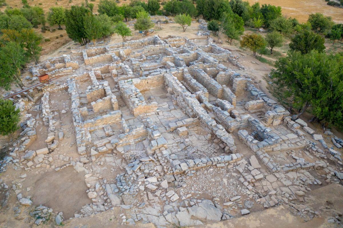 Εικ. 1. Άποψη της ανασκαφής στη Ζώμινθο (φωτ.: ΥΠΠΟΑ).