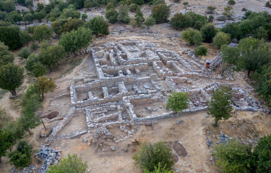 Εικ. 2. Άποψη της ανασκαφής στη Ζώμινθο (φωτ.: ΥΠΠΟΑ).