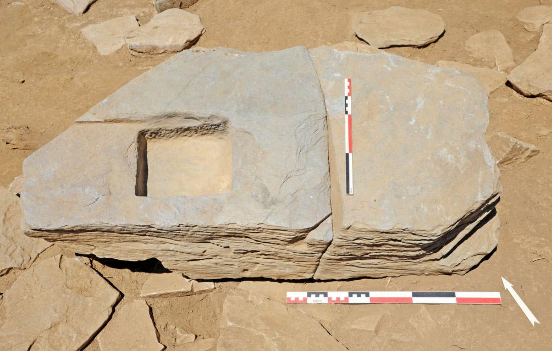 Εικ. 9. Αρχιτεκτονικά λείψανα στη Ζώμινθο (φωτ.: ΥΠΠΟΑ).